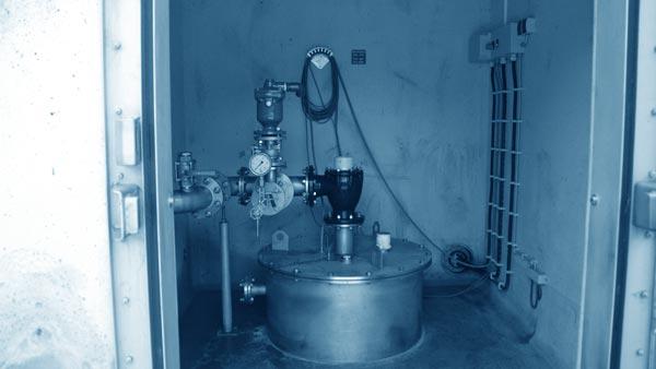 Brunnen im Trinkwasserschutzgebiet der Infra Fürth