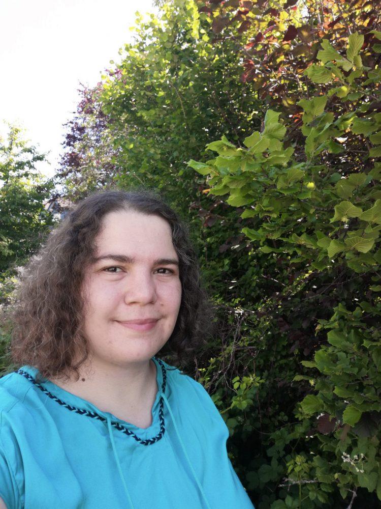 Porträtfoto: Angelika Witczak mit trockenen Haaren