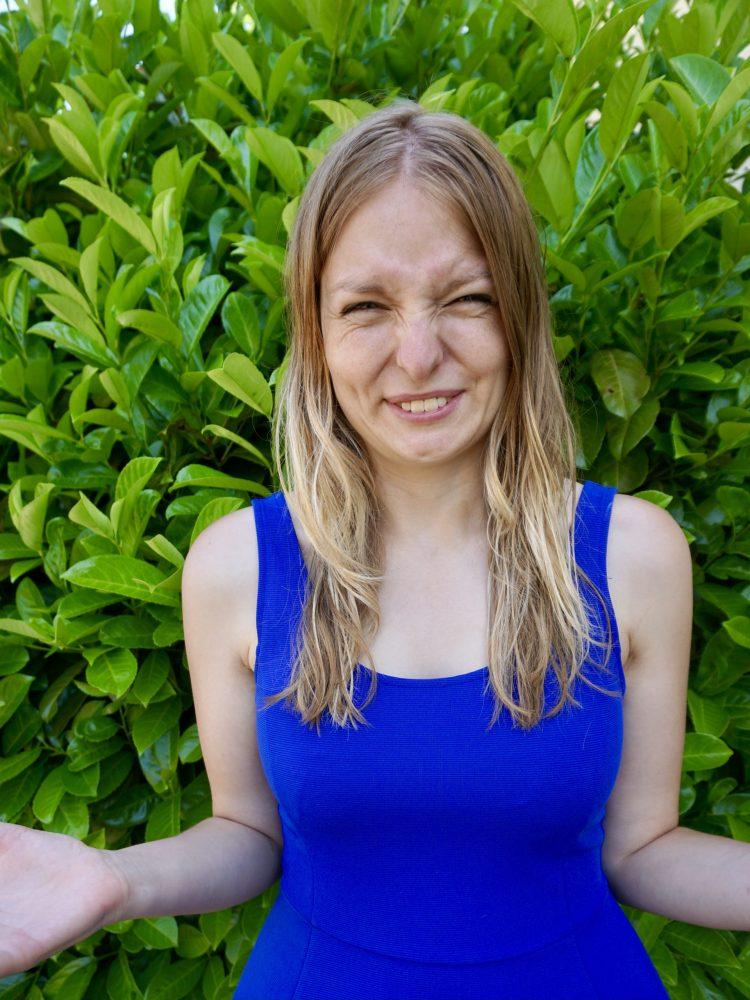 Porträtfoto: Anna-Lena Ils mit nassen Haaren