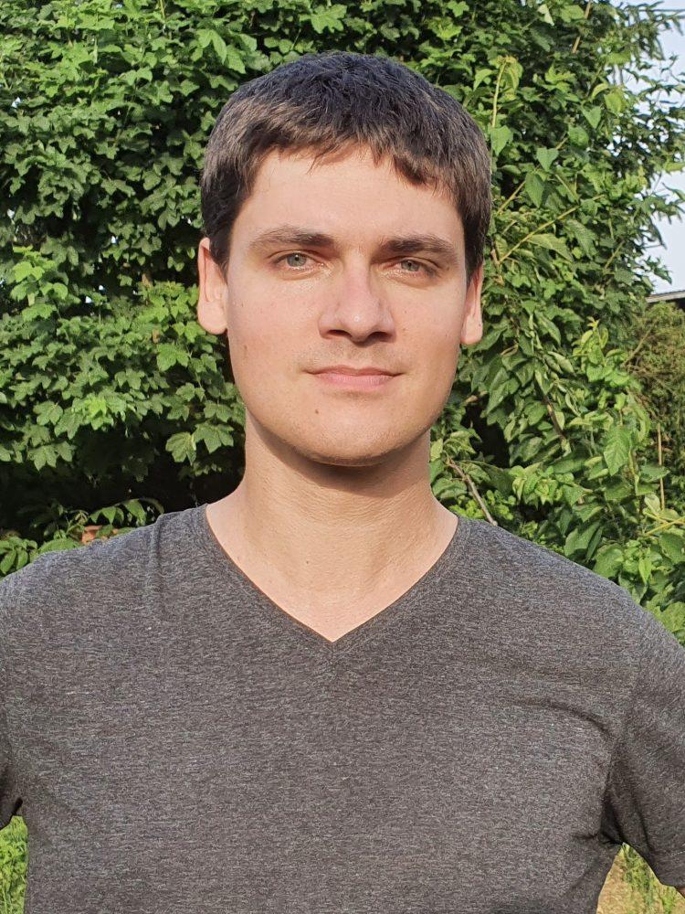 Porträtfoto: Johannes Blüm mit trockenen Haaren