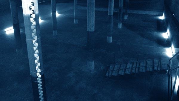 Reinwasserbehälter im Wasserwerk der Infra Fürth