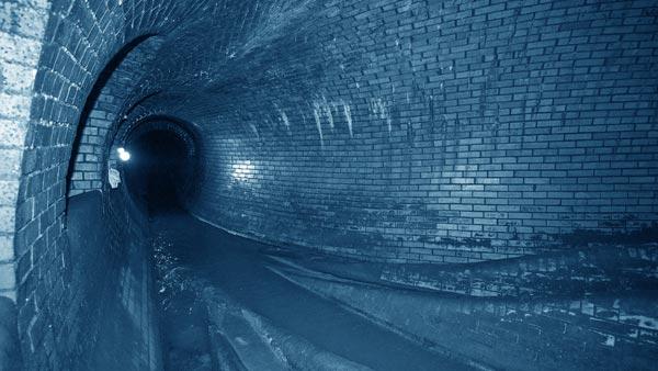 Kanalsystem der Stadt Köln. Quelle: StEB Köln; Fotograf: Peter Jost